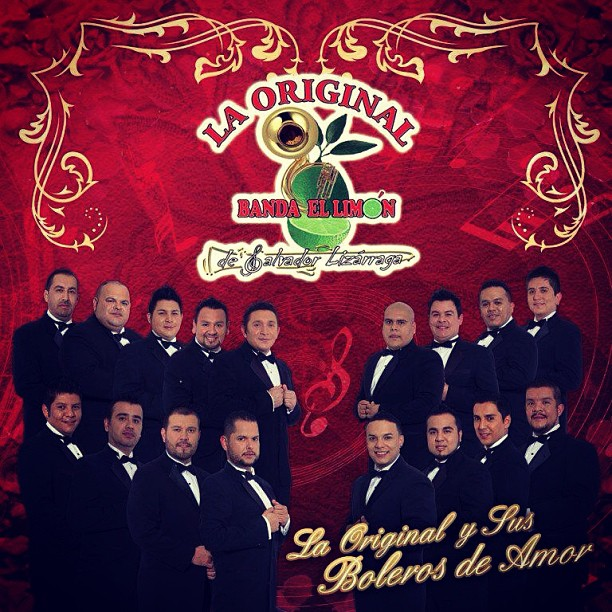 La Original Banda El Limon – La Original y Sus Boleros De Amor (2013) (Album / Disco Oficial)