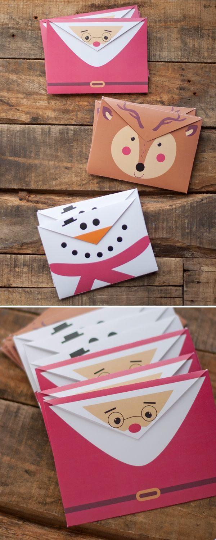 Imprimolandia sobres de navidad para imprimir - Enveloppe de noel ...