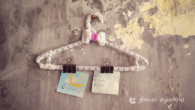 Hanging Note dari Hanger Baju