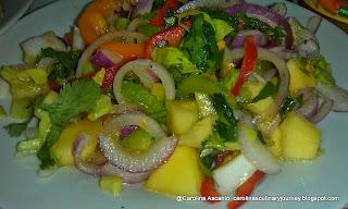 Caro's Mango Ginger Salad
