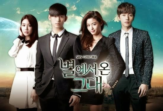 You Who Came From the Stars - 5 Drama Korea Terpopuler Tahun 2014