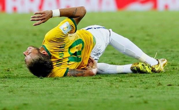 Jogador, que está se recuperando de uma lesão na coluna, quer estar no Maracanã na final da Copa do Mundo. 'Deus é fiel!', escreveu ele.