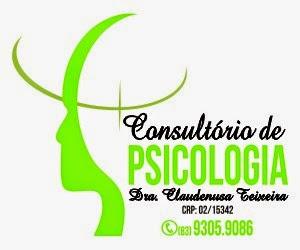 CONSULTÓRIO DE PSICOLOGIA DRA. CLAUDENUSA TEIXEIRA