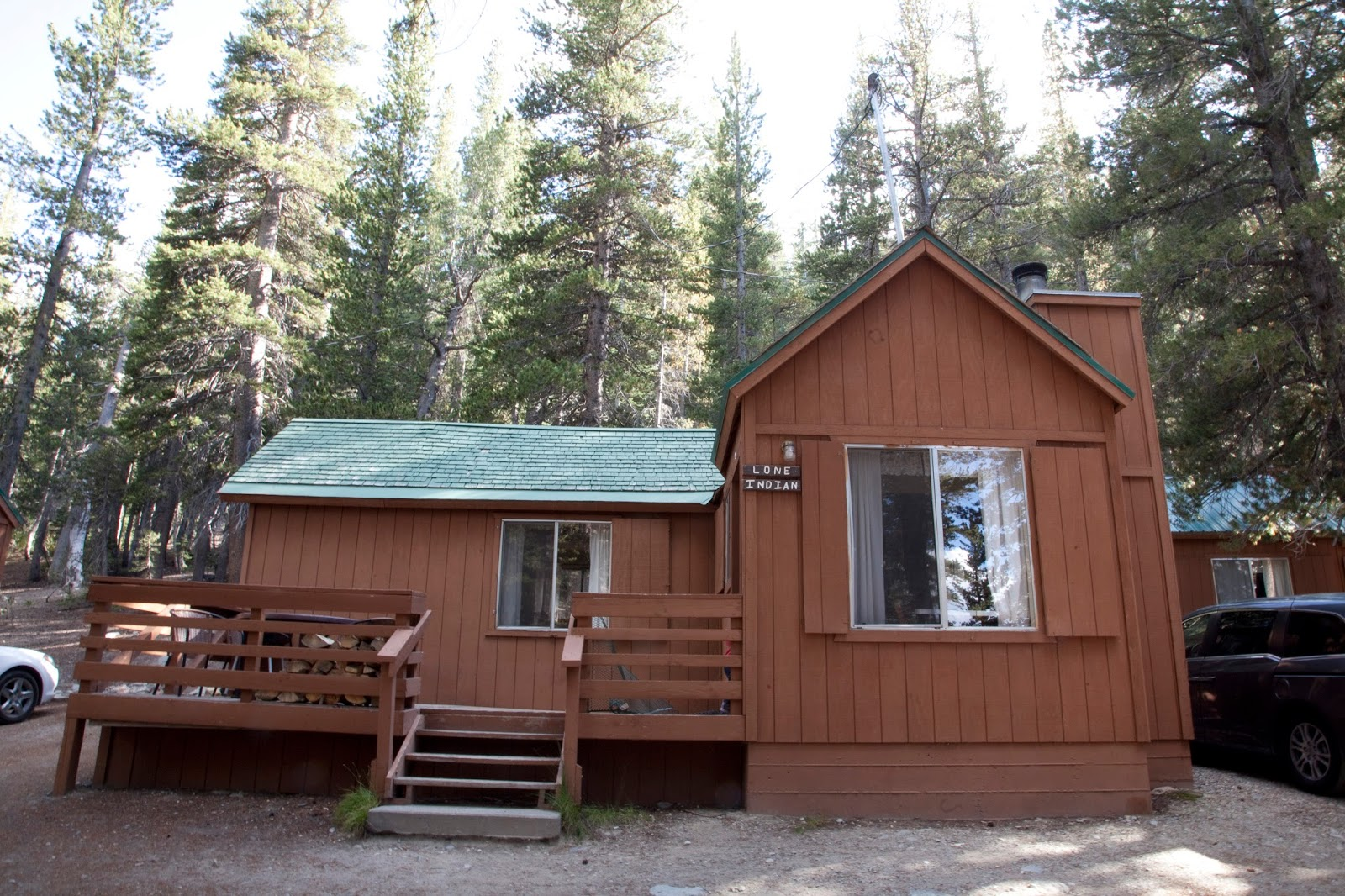 little cabins sleeping mountain at wonderful park rv rustic pin cozy lake mammoth sleep
