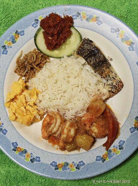 how to cook nasi lemak without coconut milk