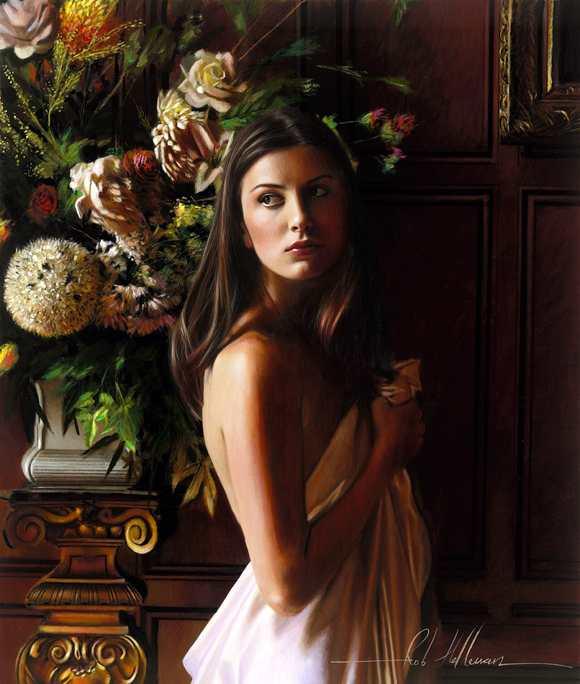 Lukisan Romantisme Rob Hefferan