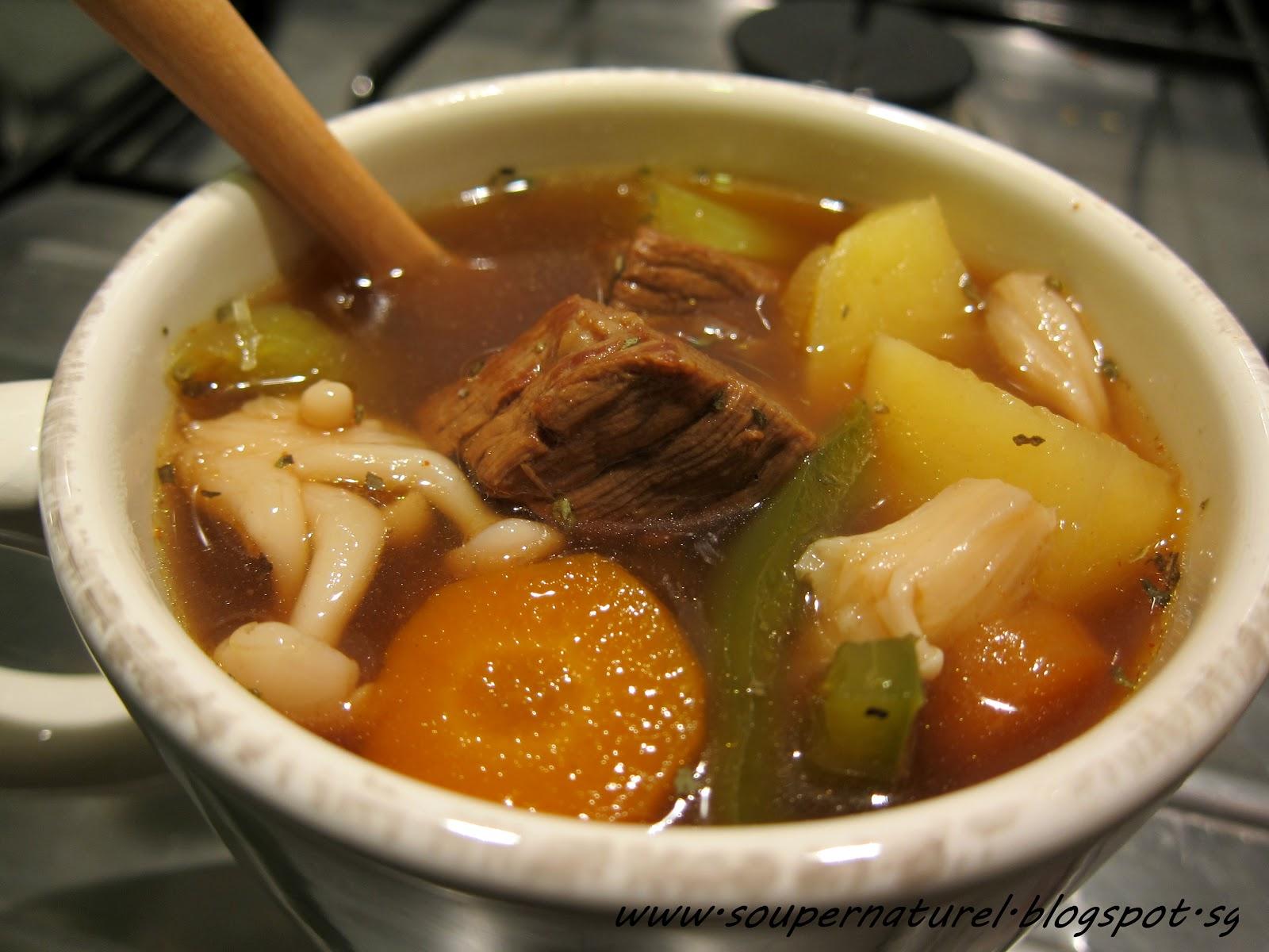 Taiwan Pineapple Beer Beef Stew! | Soupernaturel
