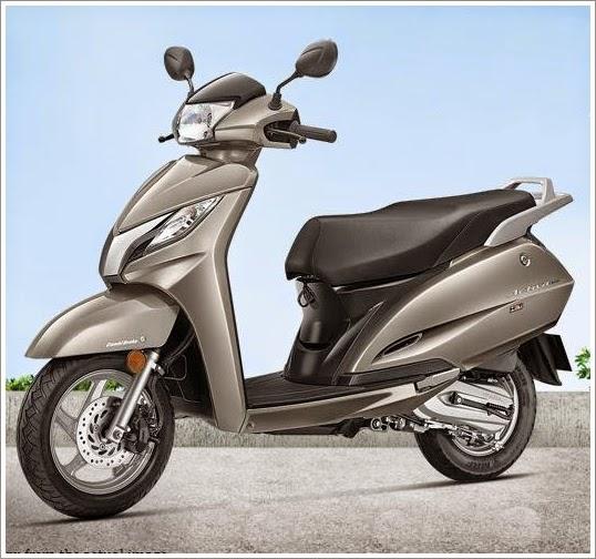 Honda Activa 125 cc grey color