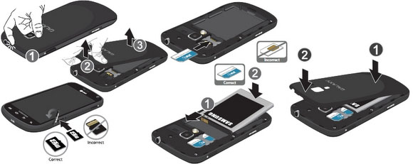 Change Samsung Galaxy Centura Sim Card