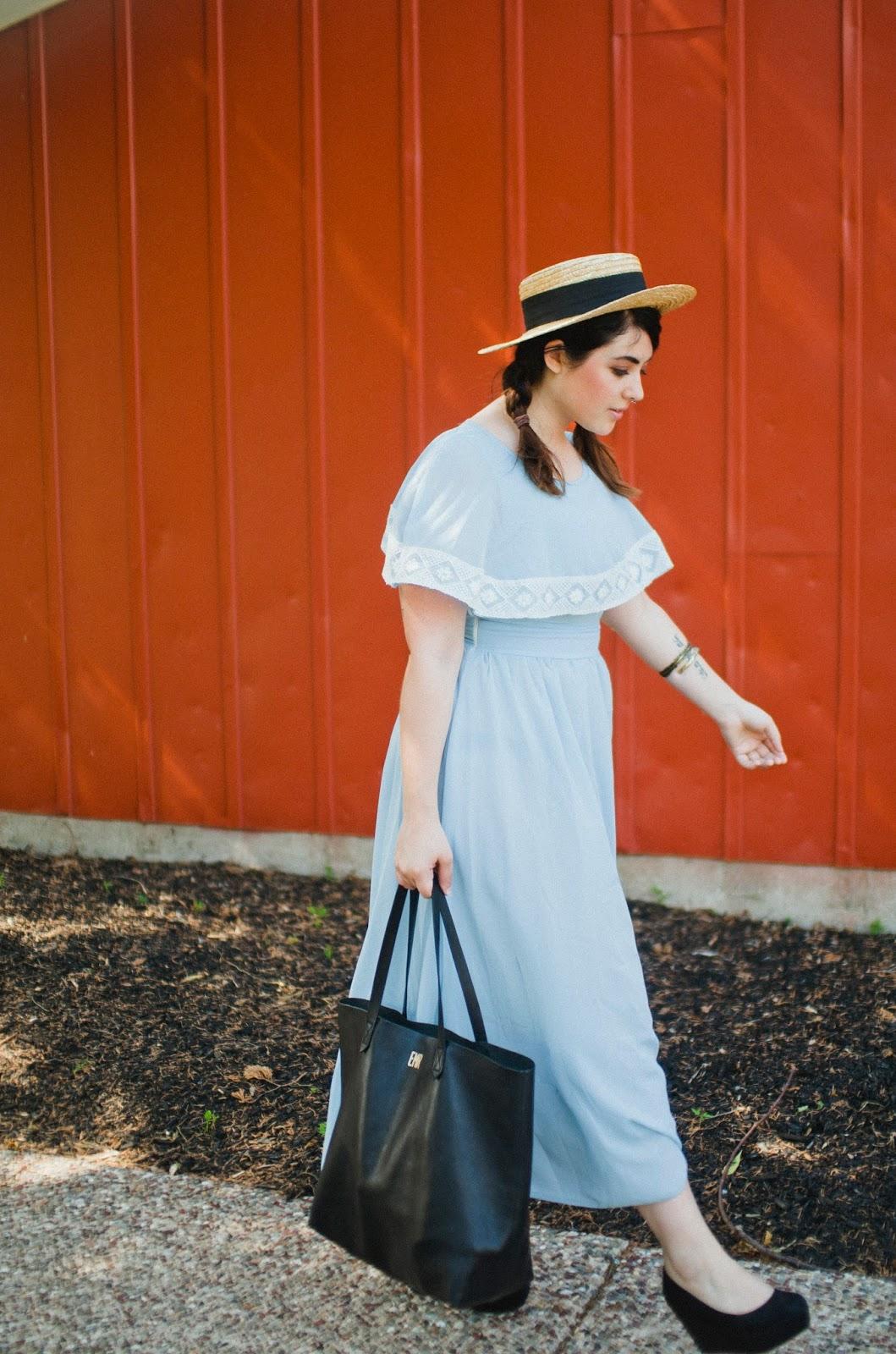 Madewell, transport, tote, black, monogram, street, style, fashion, blog