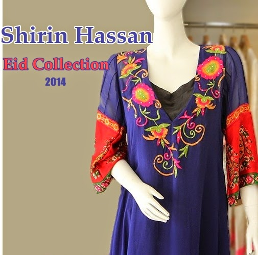 Shirin Hassan Eid Collection'14
