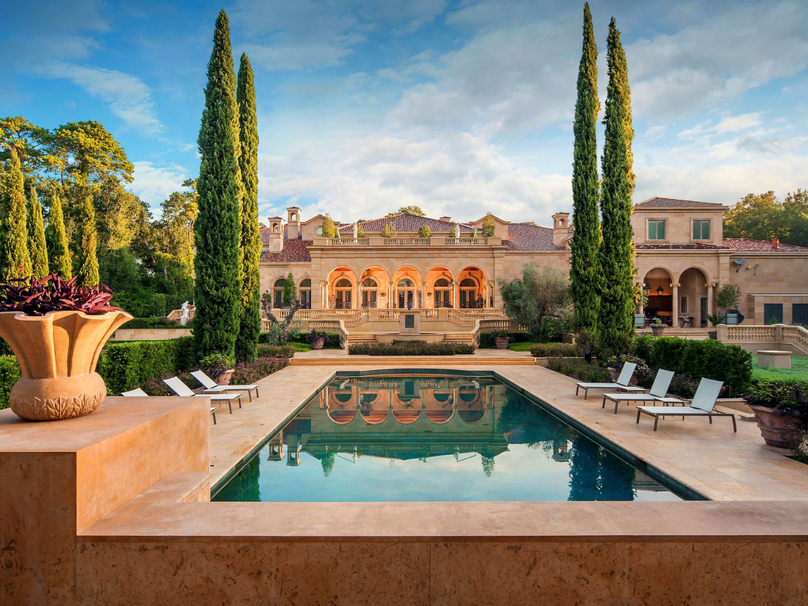 Chateau Mansion In Houston Texas Is A Masterpiece Of Luxury And