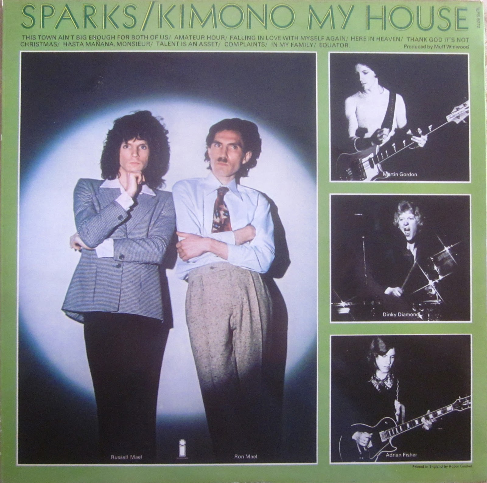 Sparks This Album's Big Enough... The Best Of Sparks
