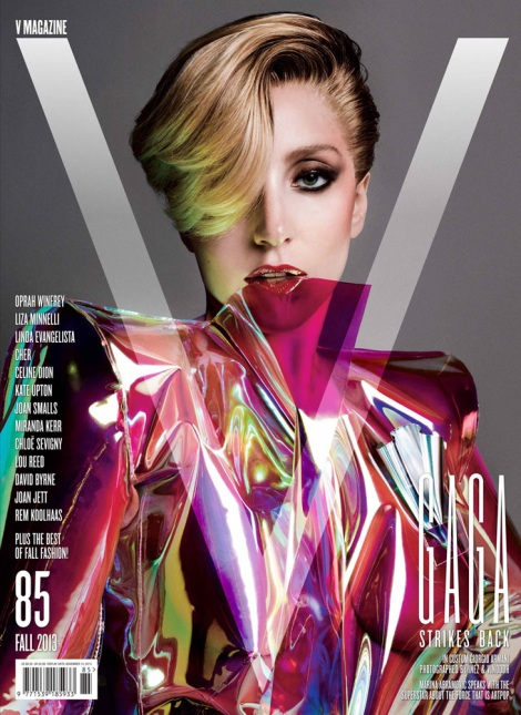 Lady Gaga Covers V Magazine #85