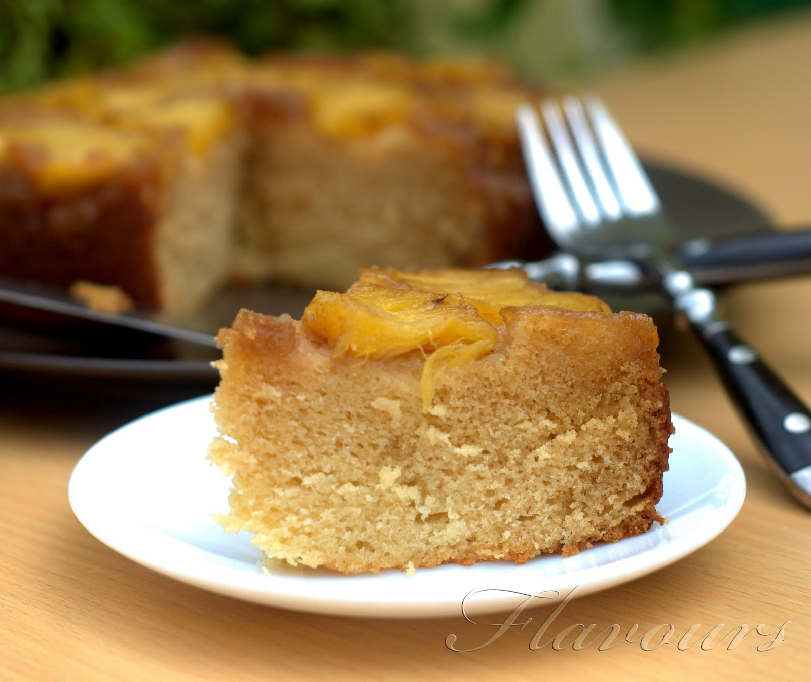 Eggless Pineapple Cake Recipe Without Condensed Milk
