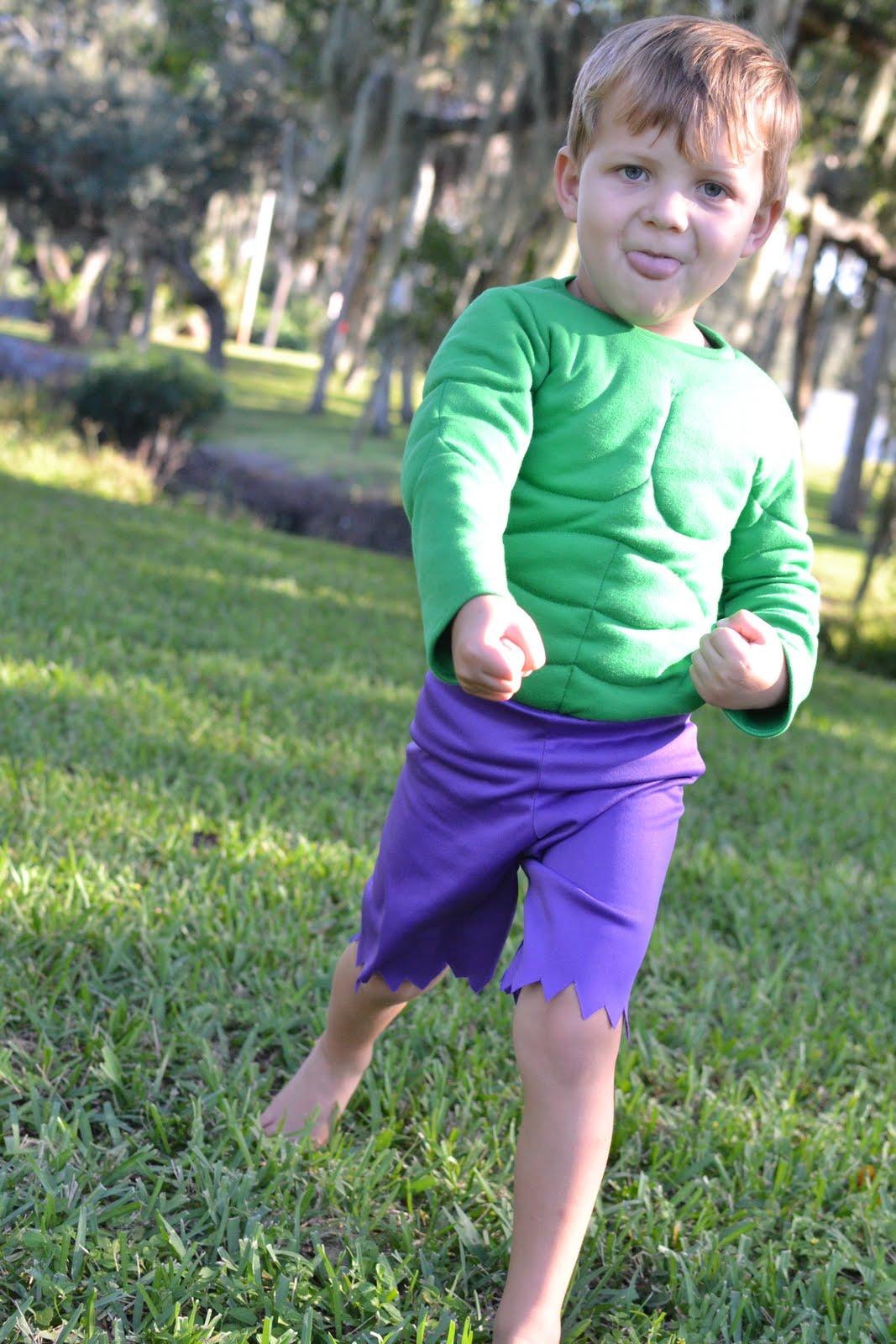 Little Hulk Costume - Mini Tutorial  sc 1 st  Blue Susan makes & Blue Susan makes: Little Hulk Costume - Mini Tutorial
