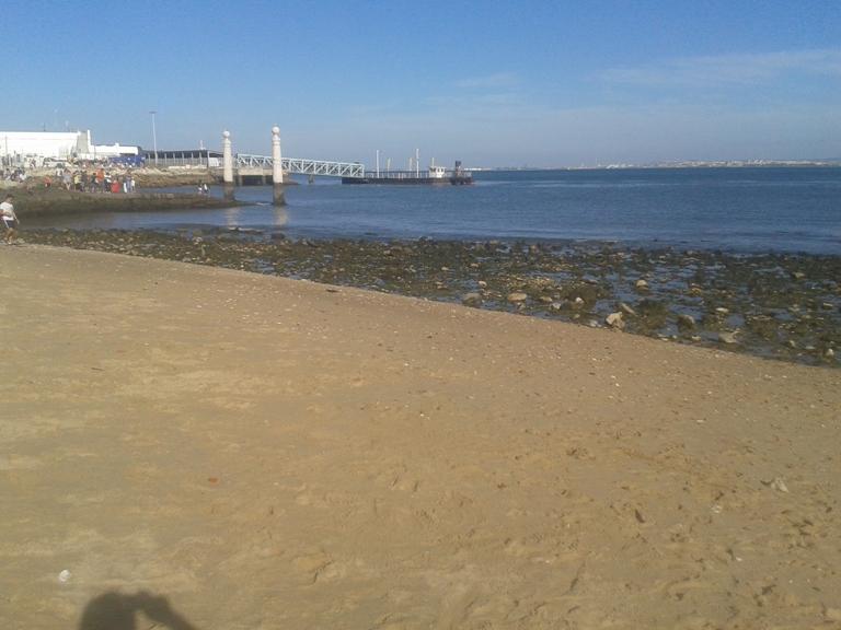Maré Baixa na Praia do Tejo
