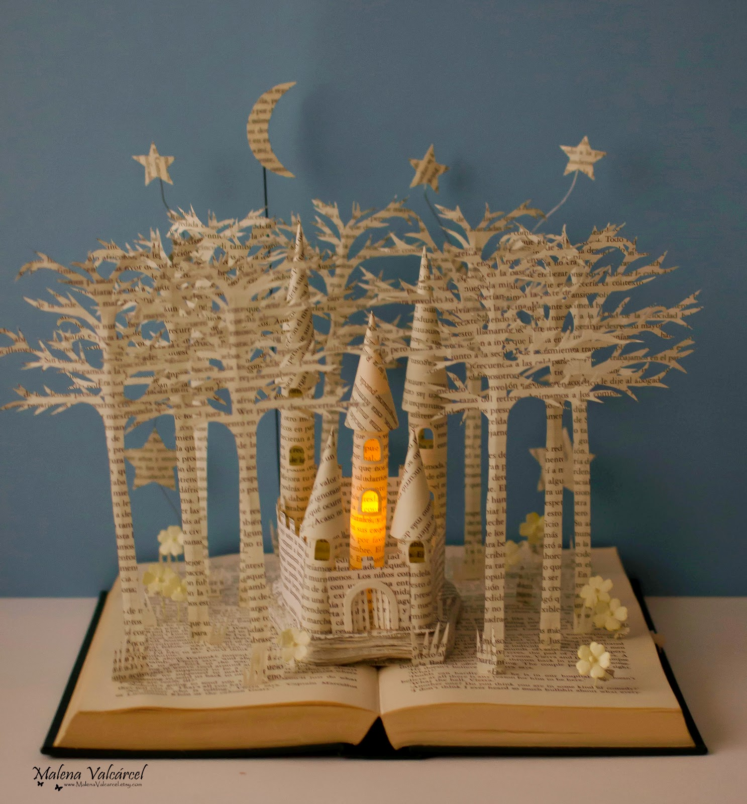 book-sculpture