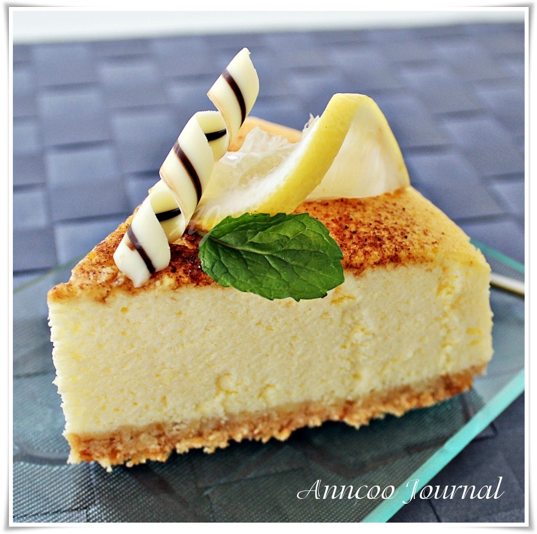 Lemon Cheesecake - Anncoo Journal