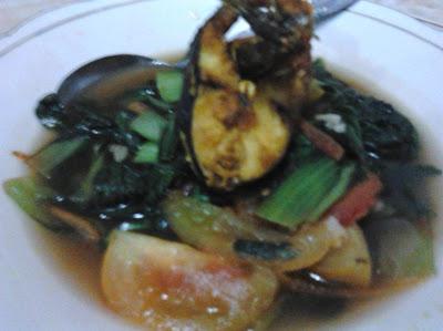 resep sup pok choy ikan patin goreng