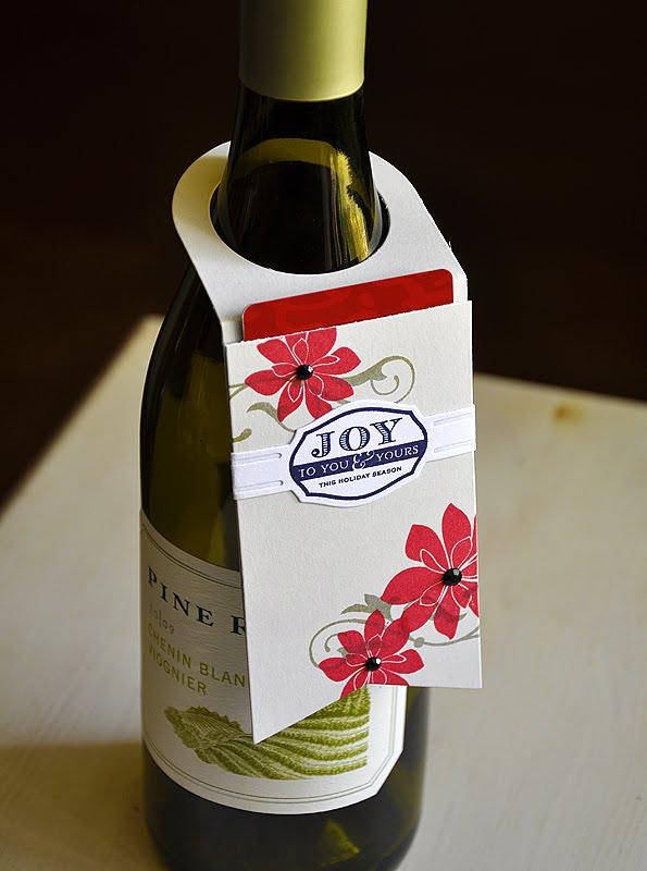 Simply Stamped: Wine Bottle Tag & Tag Sale 5 Dies Day 4