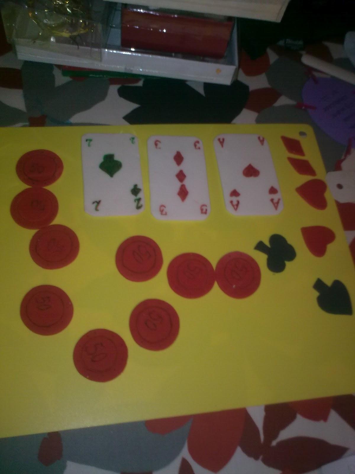 Casino pynt