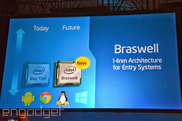 Intel apresenta processadores Braswell e kernel do Android KitKat em 64-bit