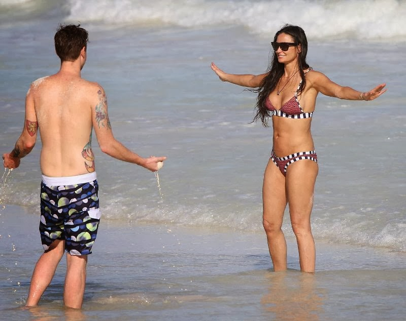 Demi Moore Shows Off Amazing Bikini Physique at 51 in Tulum, Mexico