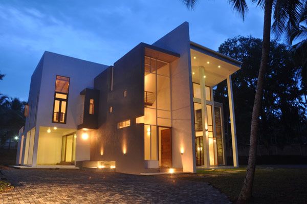 Imposing modern architecture in sri lanka chamila for Home architecture sri lanka