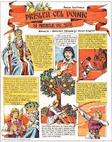 bd benzi desenate almanahul copiilor desene valentin tanase sorin anghel petre ispirescu prislea praslea cel voinic si merele de aur comics romania comic strip