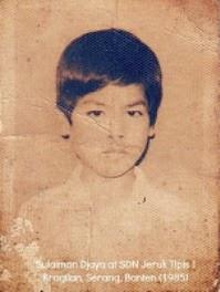 Sulaiman Djaya's Childhood Portrait