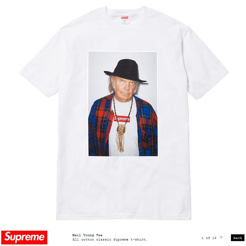 Neil Young Shirt von Supreme