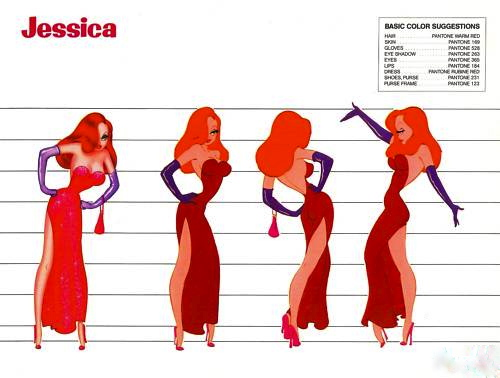 Cartoon Characters Jessica Rabbit : Imnotbad a jessica rabbit site the th anniversary
