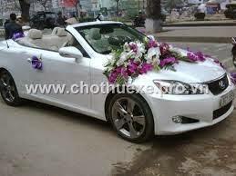 Cho thuê xe cưới Lexus IS 250C xe cưới mui trần đời mới tại Hà Nội