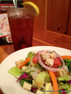House Salad with balsamic Dressing