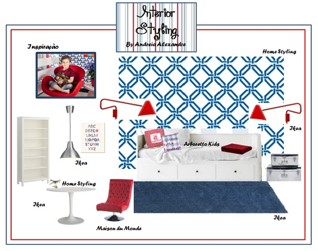 Andreia Alexandre Interior Styling: CONCEPT BOARDS