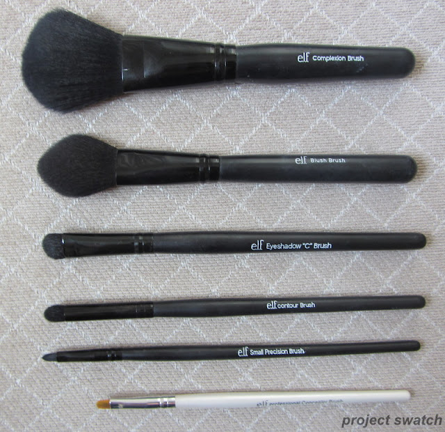 Favorite ELF Brushes