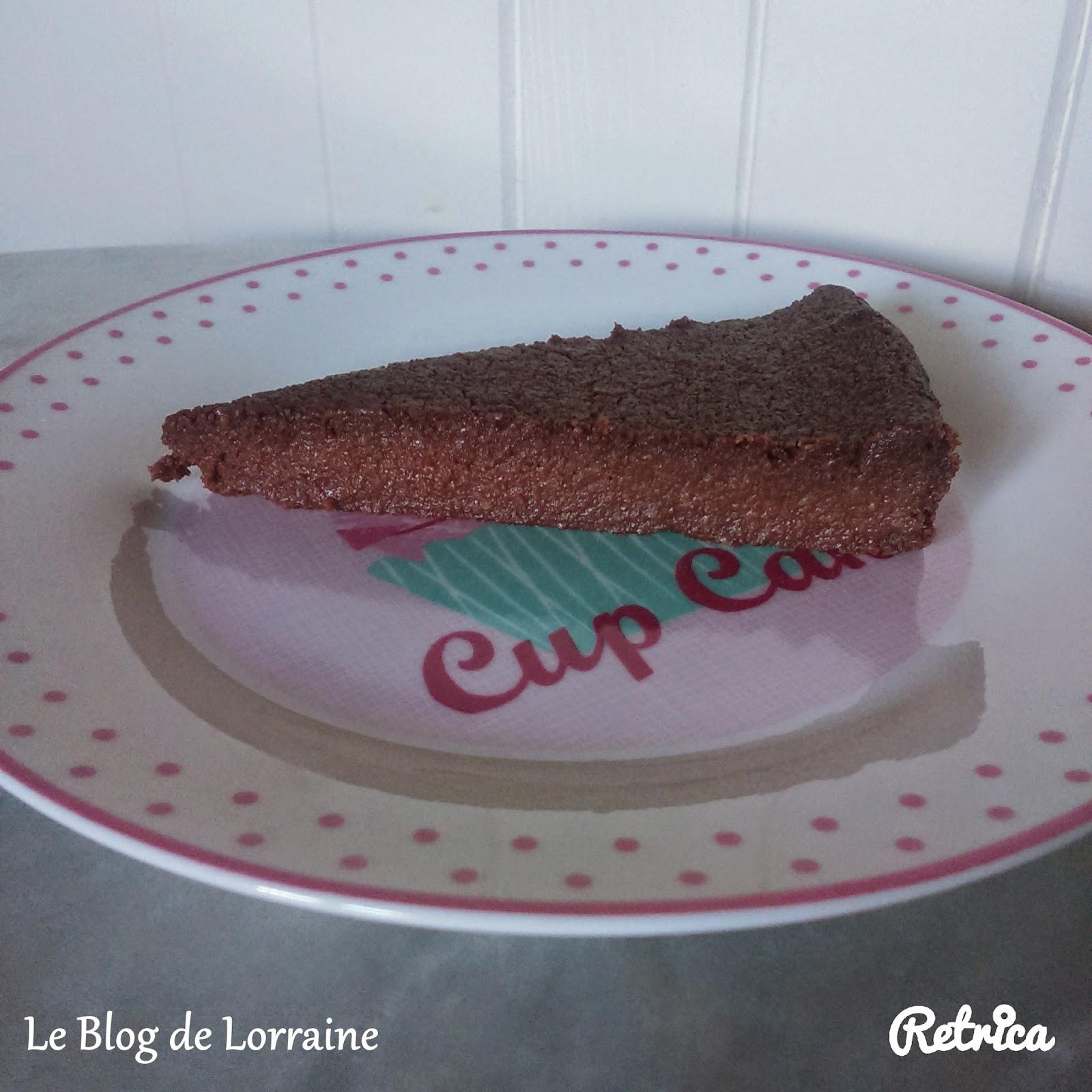 Le blog de lorraine g teau au chocolat healthy sans gluten sans plv sans oeufs sans - Gateau au chocolat healthy ...