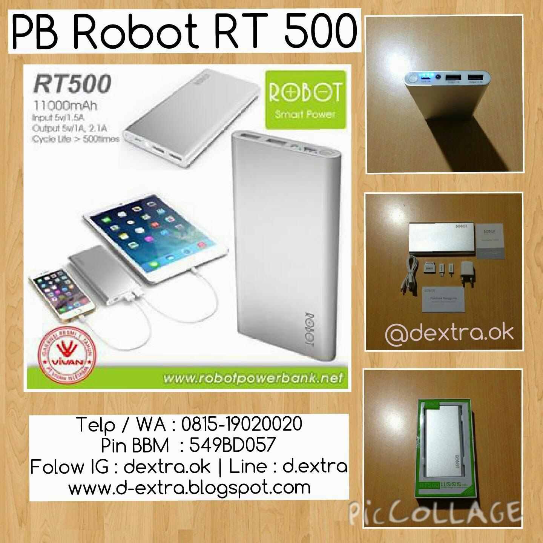 Dextra Powerbank Robot By Vivan Konsisten Dalam Kejujuran Rt7200 6600mah Original R Bg Andreas K Telp Wa 0817771123