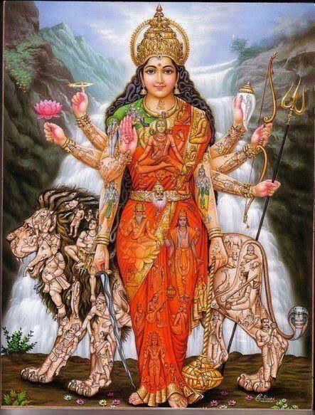 hinduism mother goddess shakti