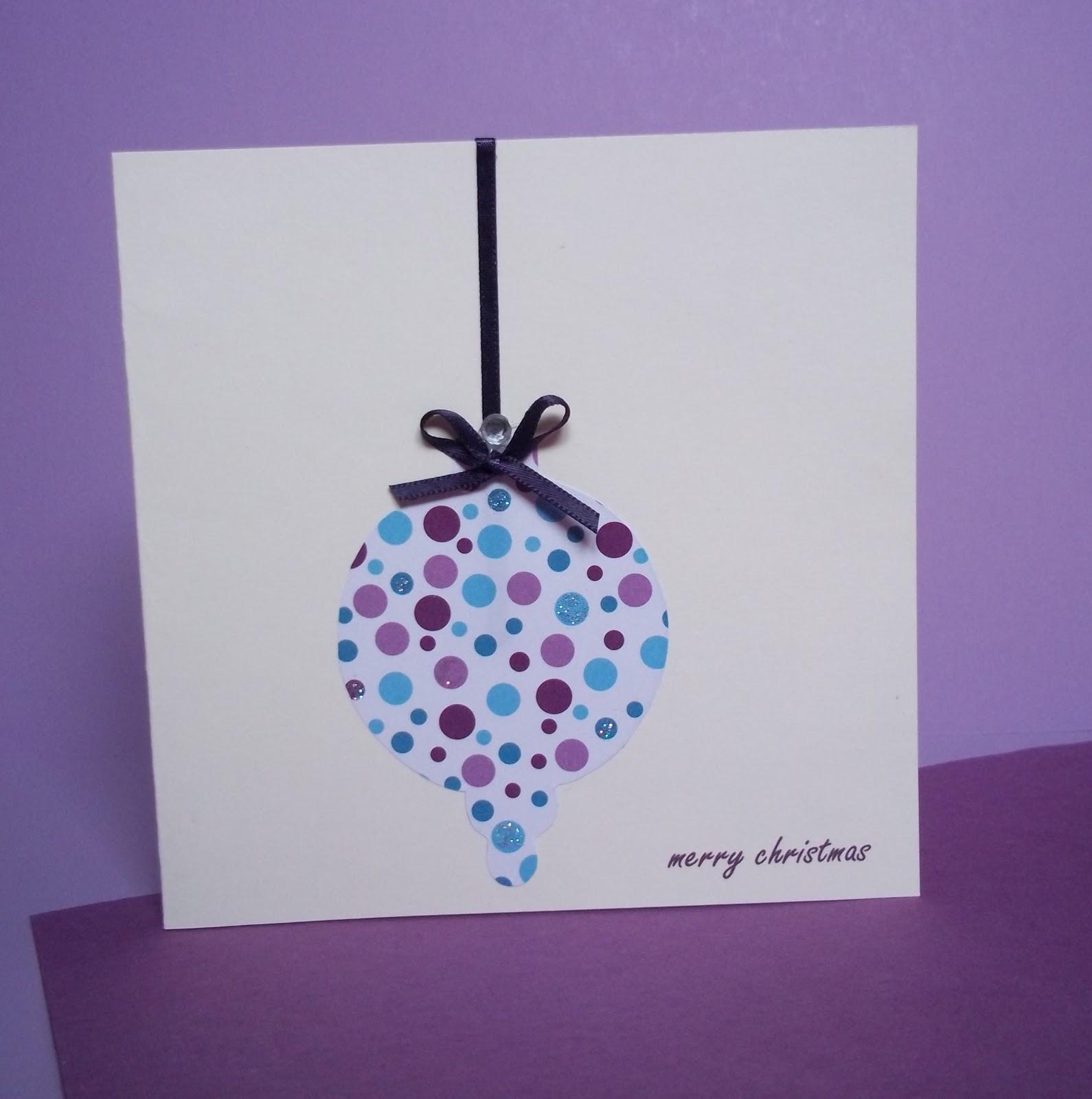 Bits N Bobs Handmade Christmas Cards