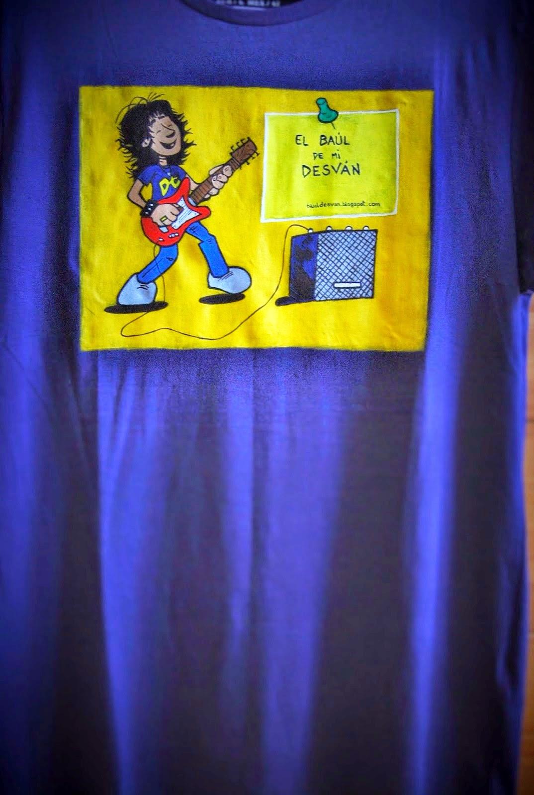 La camiseta del blog