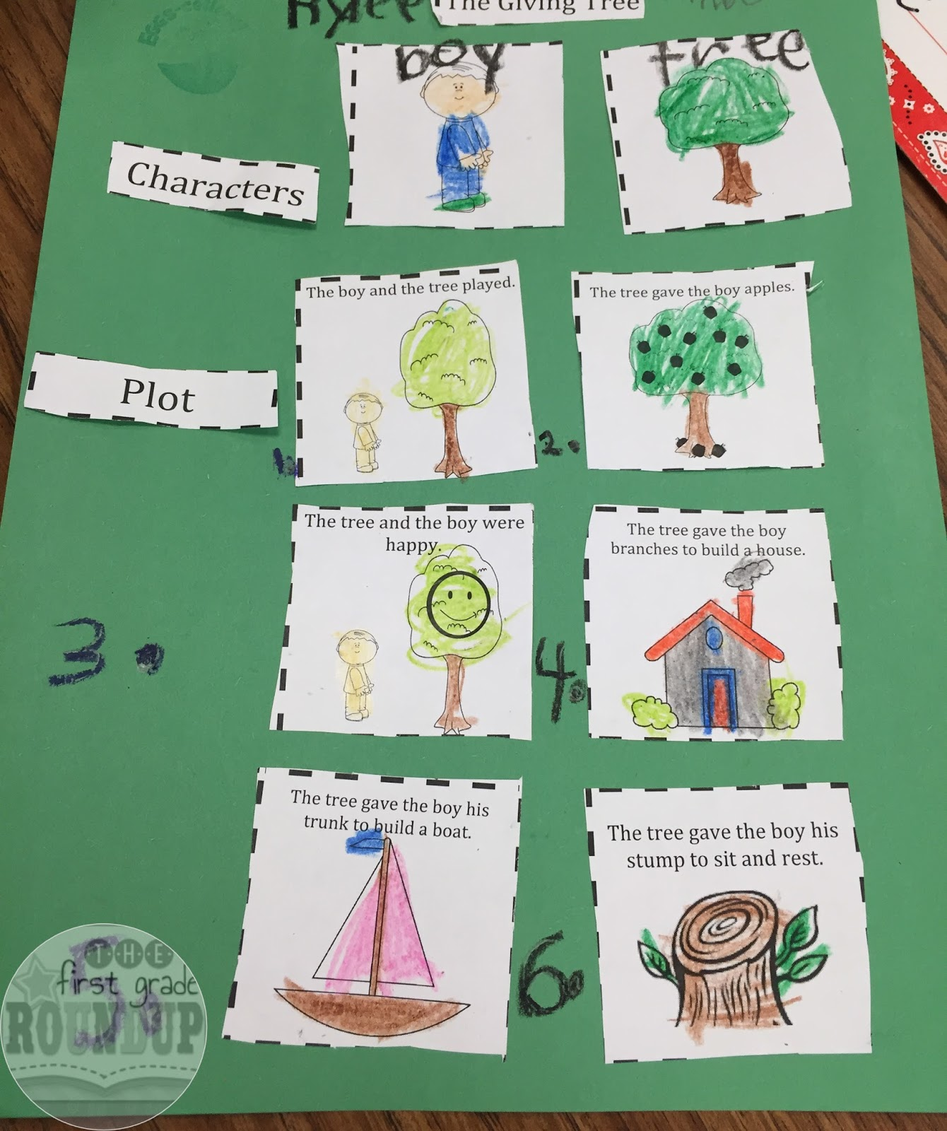 Worksheets The Giving Tree Worksheets the giving tree firstgraderoundup we reread and focused on whether or not story was a fable used our anchor chart to record saw the