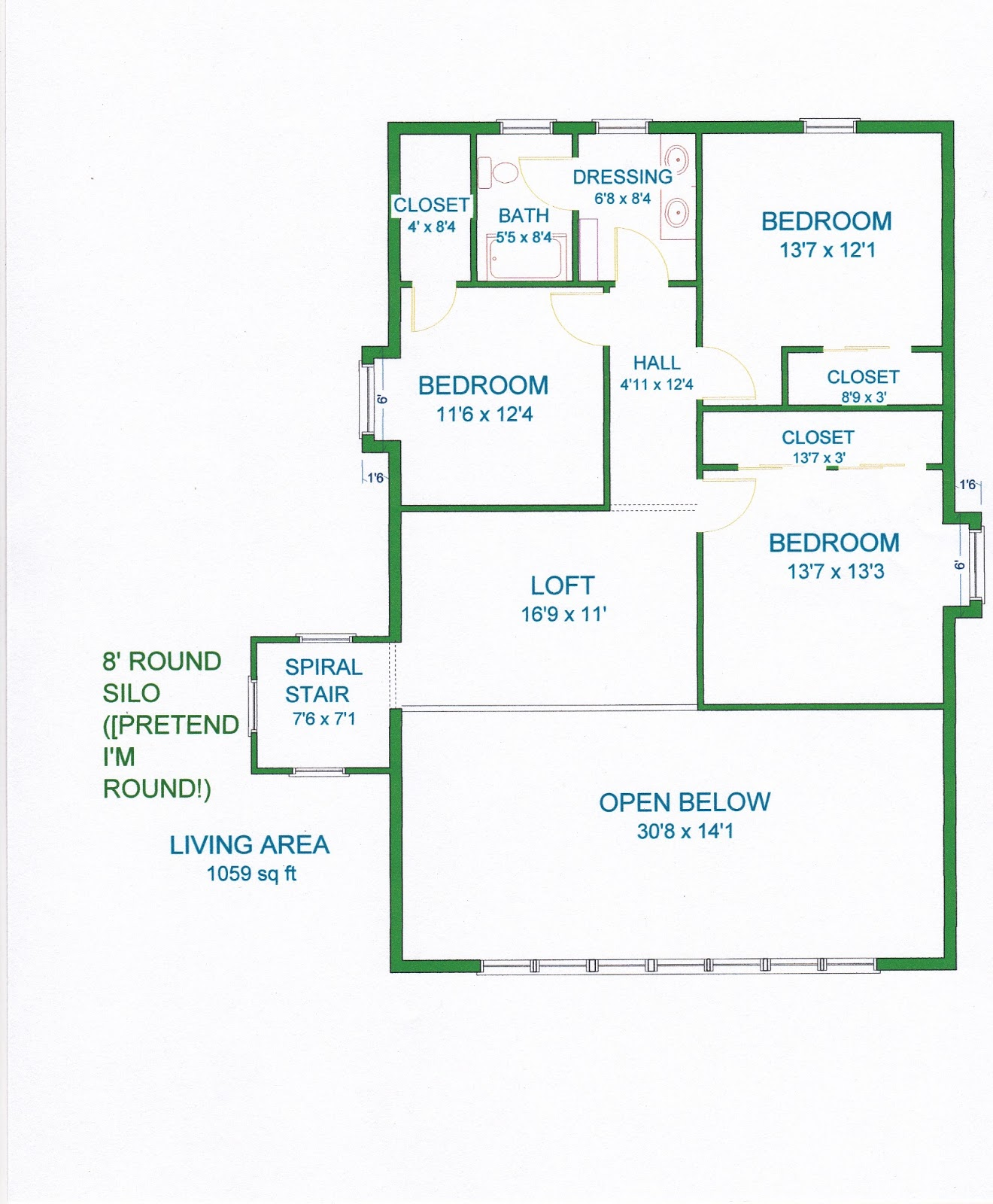 Grama Sue's Floor Plan Play Land: February 2013 on house floor plans 16x16, house floor plans 28x42, house floor plans 30x40, house floor plans 24x40, house floor plans 12x24,