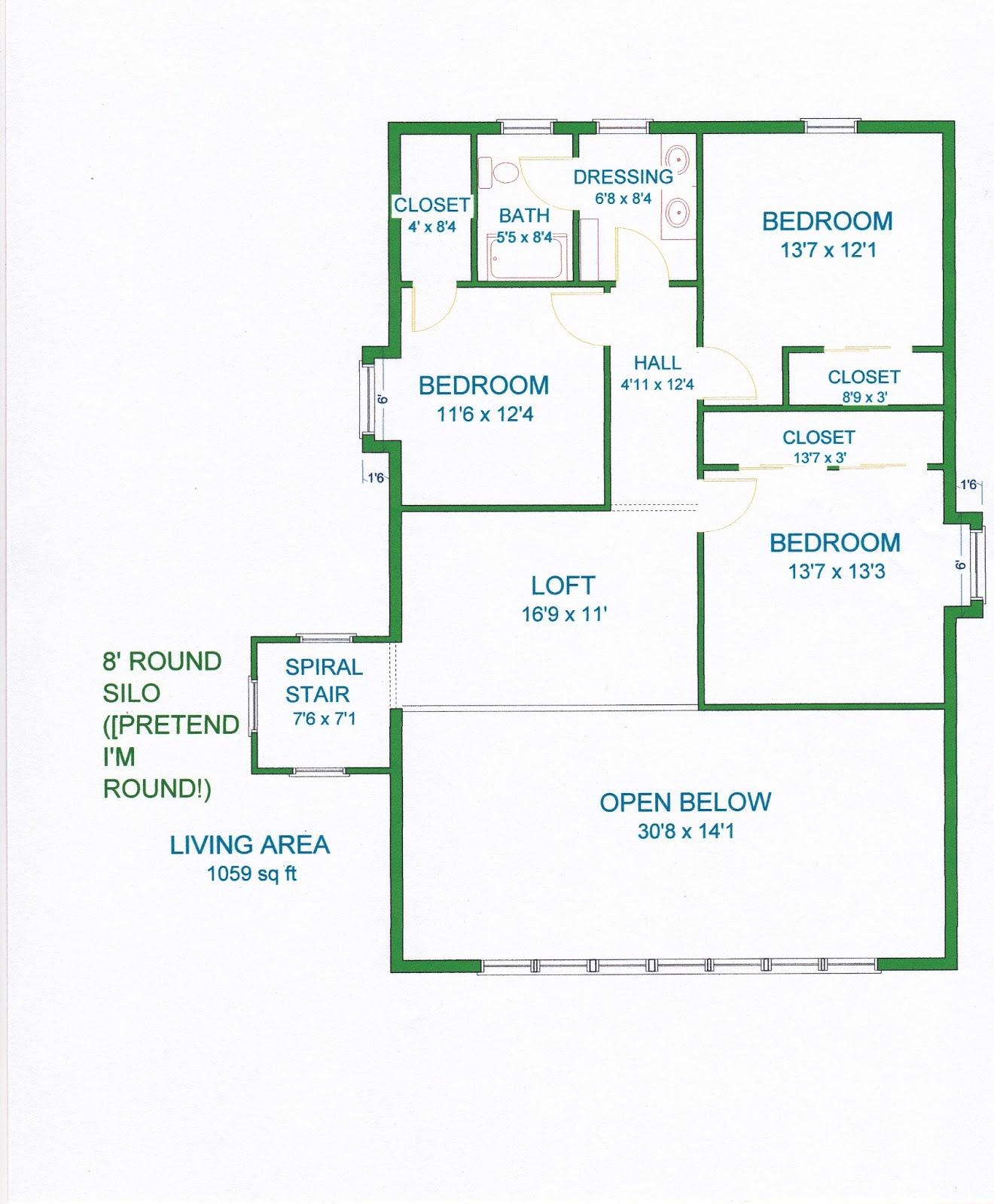 Gambrel style house floor plans house design plans for Gambrel floor plans