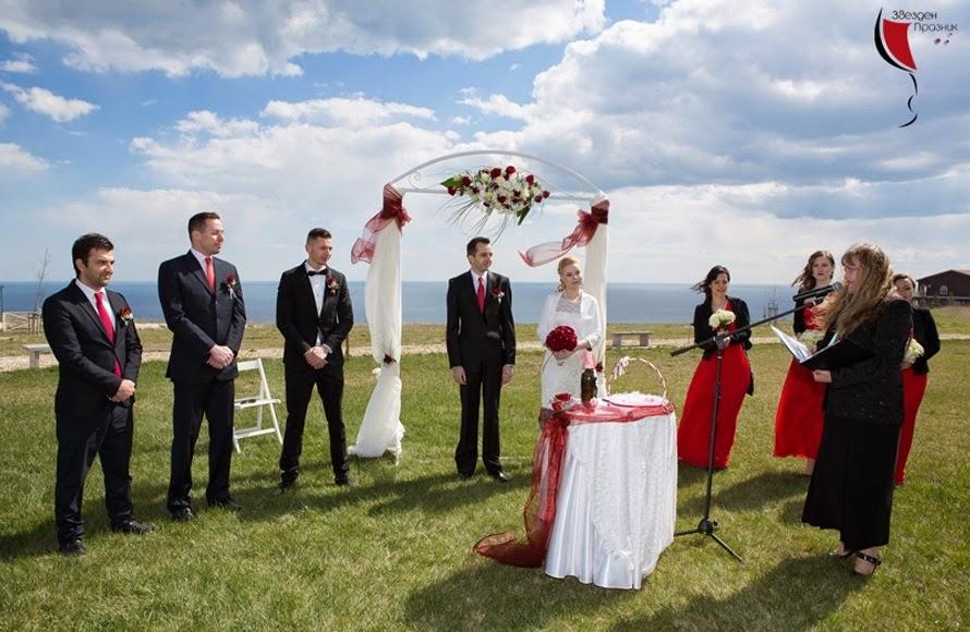граждански брак на открито в Балчик