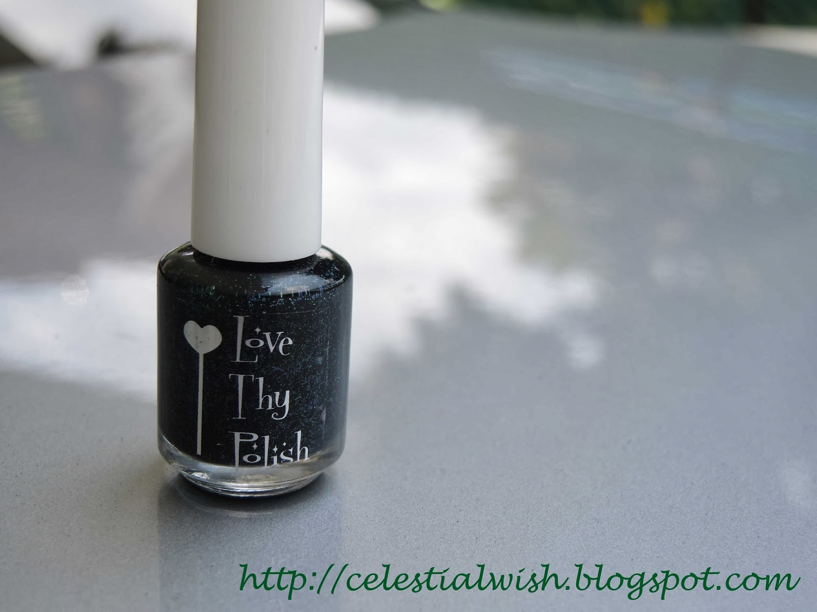 Bottle shot of Love Thy Polish's Magic Forest!