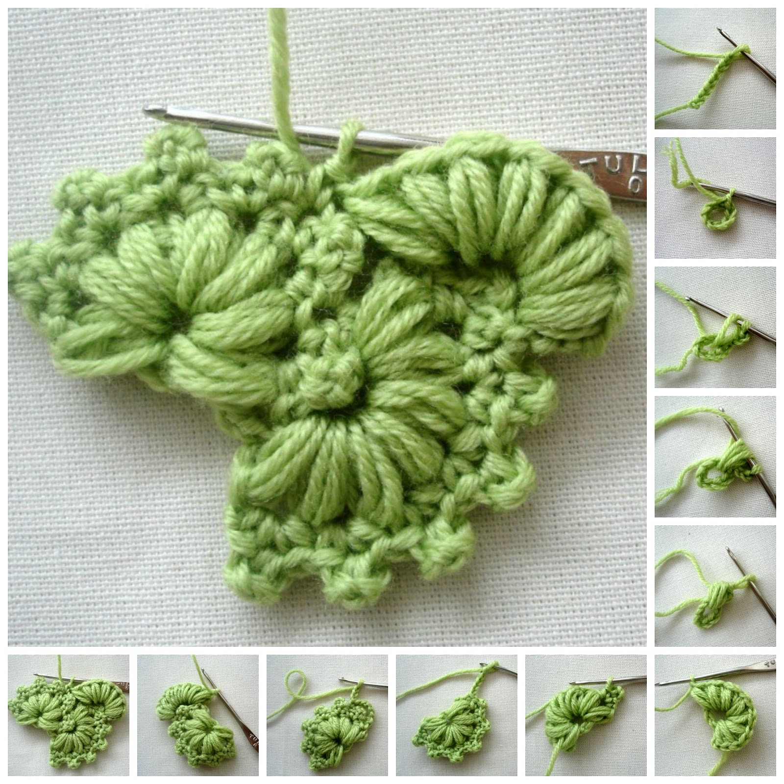 Crochet Patterns Step By Step : ergahandmade: Crochet Stitch + Free Pattern Step By Step