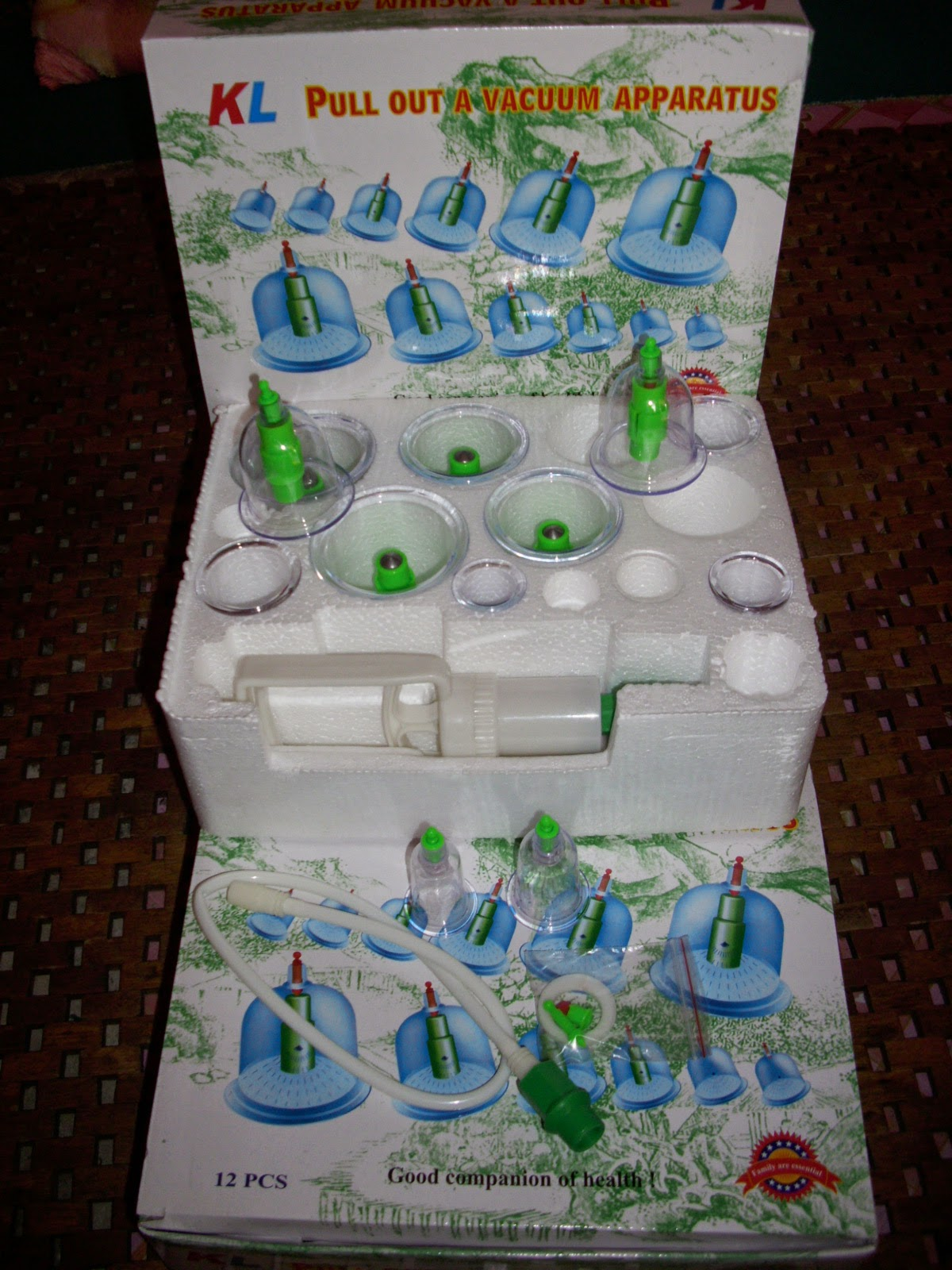 Set Bekam KL (12 pcs)