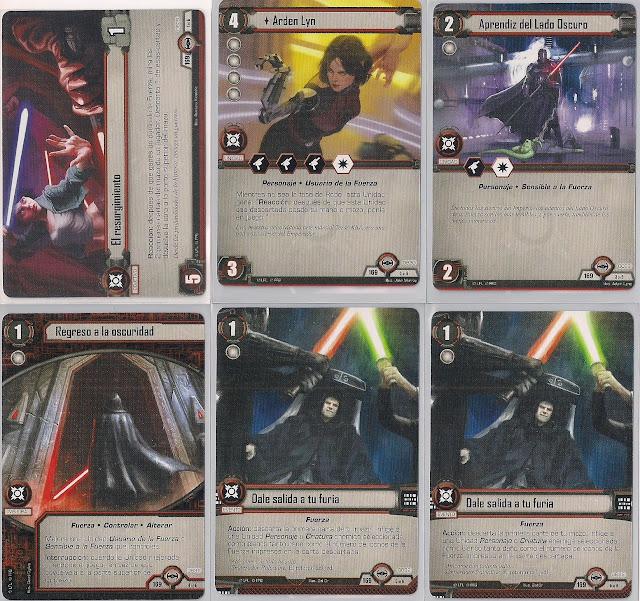 Expansión Star Wars LCG: Ciclo Escuadrón Pícaro - Salto al hiperespacio El resurgimiento
